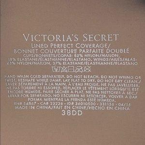Victoria's Secret Intimates & Sleepwear - Victorias Secret bra- lined perfect coverage